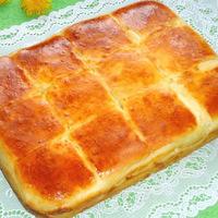 Пирог с сыром - вкусно до безумия!