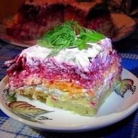 Салат из свёклы «Генерал»-вкусно-это не то слово!