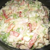 Безумно вкусный салатик