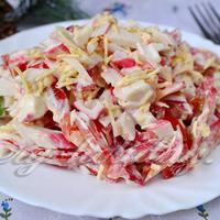 Этот салат стал нашим любимым в семье